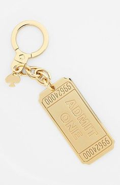 kate spade new york 'cinema' key fob available at #Nordstrom
