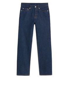 Straight Rinsed Indigo Jeans - 69 €