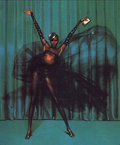 Grace Jones is a Jamaican singer, songwriter, lyricist, supermodel, record producer and actress.