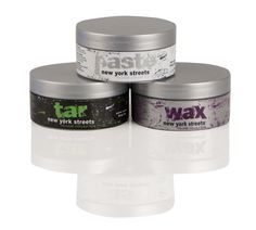 New York Streets collection: Paste, Tar, and Wax.