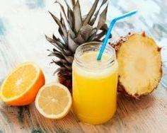Jus vitaminé ananas, orange et citron (facile, rapide) - Une recette CuisineAZ