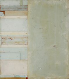 """Dusty Griffith, """"Withdraw"""", encaustic and mixed media on plexiglass and panel"""