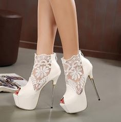 Real deals for you:  Shoes woman sexy open toe high heels platform pum...