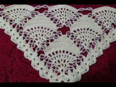 Construction of Strawberry Model Wrap Easy Knitting Patterns, Crochet Stitches Patterns, Knitting Stitches, Baby Knitting, Stitch Patterns, Chevron Crochet, Love Crochet, Crochet Flower Tutorial, Crochet Shawls And Wraps