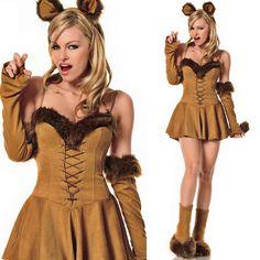 Sexy Cuddly Lion Costume. Popular Halloween Costumes, Animal Halloween Costumes, Halloween Outfits, Costumes For Women, Halloween City, Lion Costumes, Halloween Customs, Halloween Clothes, Women Halloween