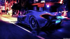McLaren P1 In Blue HD Wallpaper (1280×