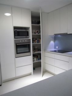 floor to ceiling kitchen cabinets w weird corner - Google Search