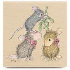 House Mouse wants a kiss.