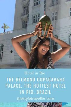 The Hottest Hotel in Rio, Brazil #travellingthroughtheworld #travelling #traveller #travel #traveltips #travelphotography Caipirinha Cocktail, Visit Rio, Rio Brazil, Copacabana Beach, Palace Hotel, Beautiful Hotels, Best Hotels, Travel Guide, Travelling