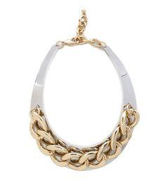 Chain Metal Collar Statement Necklace   Fashion Necklace   HOTTT.COM