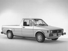 From 1978 to Volkswagen actually built a pickup truck version of its Rabbit hatchback. The Rabbit was. Vw Rabbit Pickup, Vw Pickup, Vw Caddy Mk1, Volkswagen Caddy, Golf 1, Pick Up, Small Pickup Trucks, Small Pickups, Vw Group