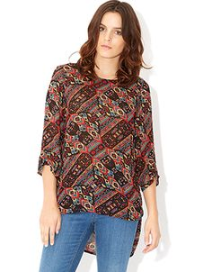 Monsoon Lakota Print Top