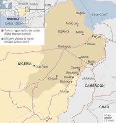 Via BBC: Fighters from the Islamist militant group Boko Haram have launched an attack on the key city of Maiduguri in north-eastern Nigeria, reports say. Bagan, Bbc News, Lake Chad, Boko Haram, Army Base, Expansion, New Africa, Social Justice, Troops