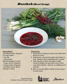 Image may contain: food soup healthy recipes rezepte soup soup Beet Recipes, Polish Recipes, Fall Recipes, Soup Recipes, Healthy Recipes, Polish Food, Healthy Food, Recipies, Kitchens