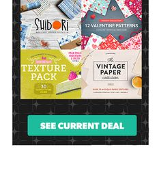 Design Cuts - Discounted Design Bundles for Creative Professionals. Textures and Patterns Bundle