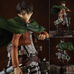 AmiAmi [Character & Hobby Shop]   Attack on Titan - Levi 1/7 Complete Figure(Released)