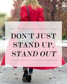 Don't Just Stand Up,