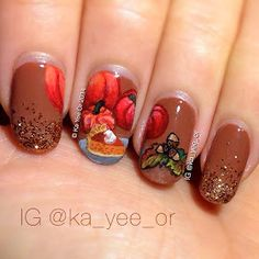 I'm sharing the love with a feature of some of my favorite nail artists on Instagram!