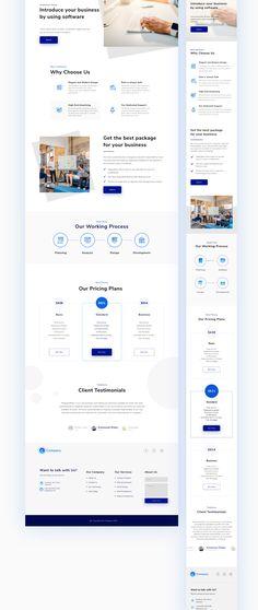 Website Design Inspiration, Best Website Design, Corporate Website Design, Landing Page Inspiration, Website Design Layout, Homepage Design, Layout Site, Minimalist Web Design, Flat Web Design