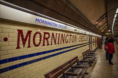 Mornington Crescent Tube Station, London