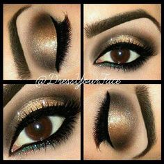 My Favorite Smoky Eye! Perfect Night Look!