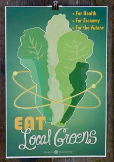I've been dying to get one of these posters. Waiting until we move and I have more wall space in my kitchen. / $15 from The Victory Garden of Tomorrow