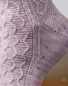 Knitting Stitches, Knitting Socks, Hand Knitting, Knitted Hats, Knitting Patterns, Tunisian Crochet, Knit Or Crochet, Wool Socks, Crochet Slippers