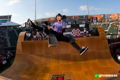 Bob Burnquist fue el ganador de los X GAMES 2013 de Big Air de skate en Barcelona. #BobBurnquist #xgames #skate #bigair #winer #ganador #exito