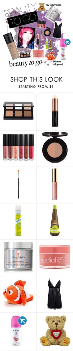 """Emergency Beauty Kit"" by oudanne ❤ liked on Polyvore featuring Anastasia Beverly Hills, tarte, Forever 21, Macadamia, Elizabeth Arden, Rodial and Rut&Circle"