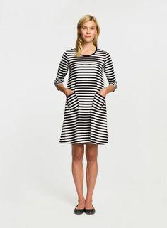 Tiia dress (white, black) |Clothing, Women, Dresses & skirts | Marimekko