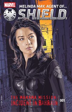 Faux comic book cover for Agent of SHIELD& Melinda May All Marvel Movies, Man Movies, Comic Movies, Marvel Characters, Comic Books, Marvel Women, Marvel Dc, Marvel Comics, Melinda May