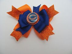 Chicago Bears Boutique Hair Bow!