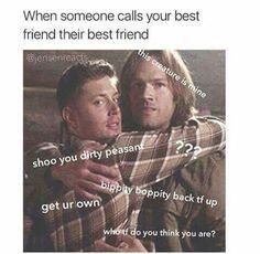 When someone calls your best friend their best friend