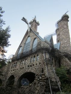 Jim Bishop's Castle is an impressive, handmade stone fortress, all built by one person and it is in Colorado!