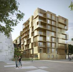 Golden Cube : Résidence étudiance à Boulogne-Billancourt