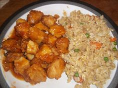 Cooking, Cleaning, Playing and a little bit of Rest: Sweet and Sour Chicken with Fried Rice