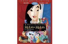 Win Mulan and Mulan II on DVD/Blu-Ray. Click through to enter. Contest closes April 5.