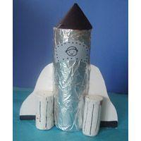 Rakete Bastelprojekt