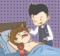 aw c; (harry styles,zayn malik,one horan,louis tomlinson,liam payne) One Direction Fan Art, One Direction Cartoons, One Direction Drawings, Chibi, Little Doodles, First Love, My Love, Liam James, Backgrounds