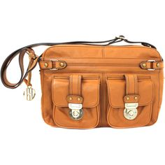 Hayden Harnett Conrad Shoulder Bag in Cognac ($298)