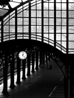beautiful picture of the train station in den bosch, NL. i've been here!