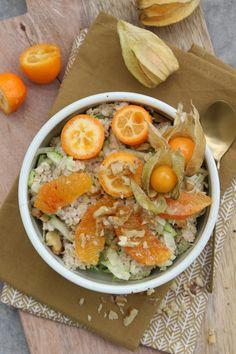 Grundrezept für ein Powerfrühstück: Zoats {Zucchini Porridge}