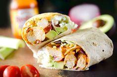 Buffalo Chicken Wraps   Food Recipes