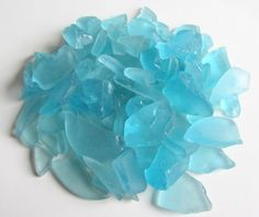 Turquoise Sea Glass For Wedding Crafts Beach House by CereusArt, $15.00