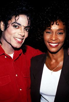 michael jackson and whitney houston...had their problems but made awsome music..