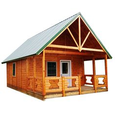 AuSable Timber Cabin - Panel Concepts Affordable Modular Log Cabin Kits - Perfect for camping, hunting, camps, living and retirement!