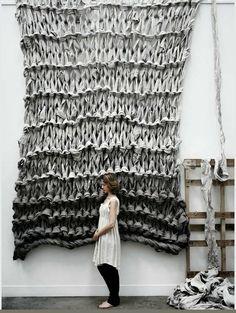 Tricot géant INTERVIEW de Jacqui Fink de Littel Dandelion