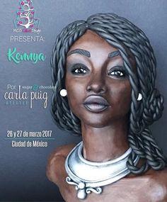 Carla Puig ya está en México para impartir 2 de sus espectaculares cursos!  Quedan solo unos pocos lugares disponibles. Aprenderás a modelar con chocolate plástico, a tallar tartas, a hacer rostros y muchas cosas más!! LLAMA AL 552313-5038 Y APARTA TU LUGAR CON GABY VEGA.