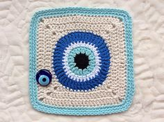 50 Best Crochet—Evil Eye images in 2017 | Evil eye, Crochet