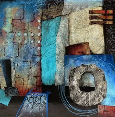 Collage art of Laura Lein-Svencner: Exploring the Surface with Collage